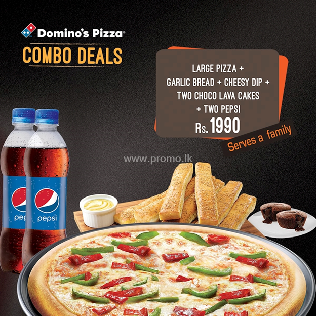 Domino's pizza promotion in sri lanka